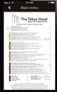 Talbot Hotel apk screenshot