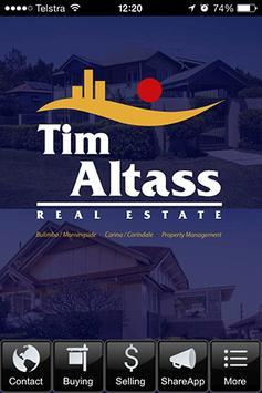 Tim Altass Real Estate poster