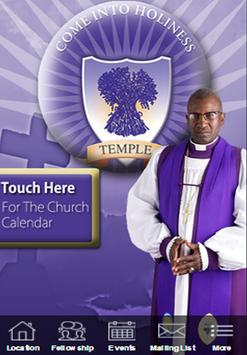 Temple COGIC poster