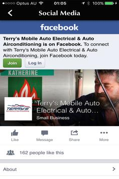 Terry's Auto Electrical apk screenshot