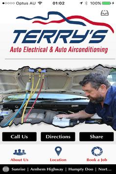 Terry's Auto Electrical poster