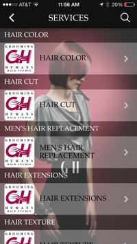 Grooming Humans Hair Studio apk screenshot
