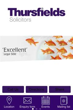 Thursfields Solicitors poster