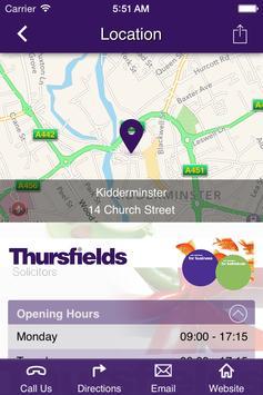 Thursfields Solicitors apk screenshot