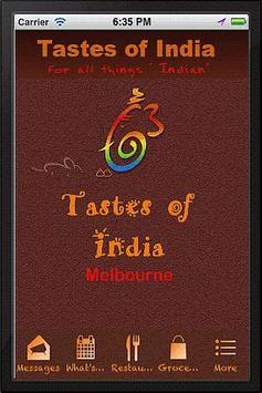Tastes Of India poster