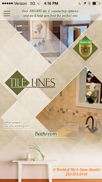 Tile Lines poster