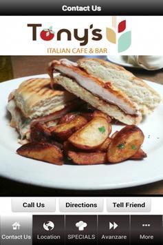 Tony's Italian Cafe poster