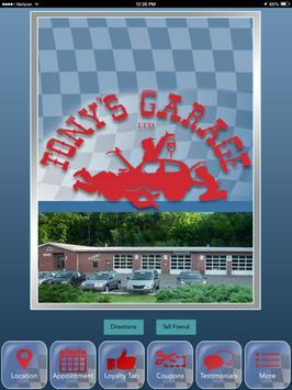 Tony's Garage apk screenshot