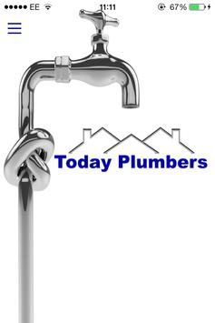 Today Plumbers poster