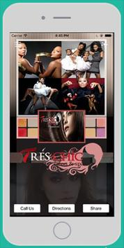 Tres Chic Salon And Spa poster
