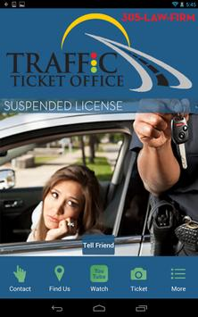 Traffic Ticket Office poster