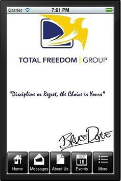 Team Total Freedom poster