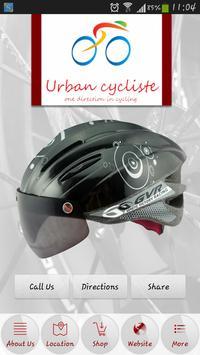 URBAN CYCLISTE poster