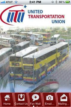 UTU Local 11 poster