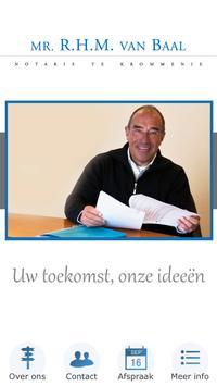 Notaris Mr. R.H.M. van Baal BV poster