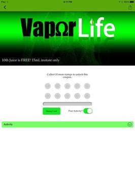 Vapor Life apk screenshot