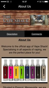 Vape Shack apk screenshot