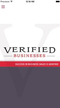 Verified Businesses poster