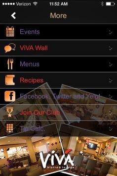 ViVA Bistro and Tapas Lounge apk screenshot