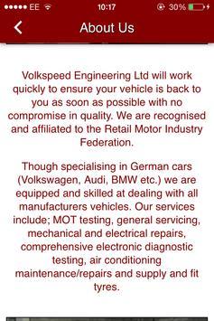 Volkspeed Engineering Ltd apk screenshot