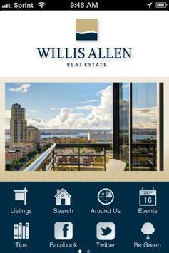 Willis Allen Real Estate poster