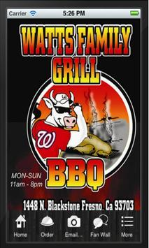 Watts Family Grill poster