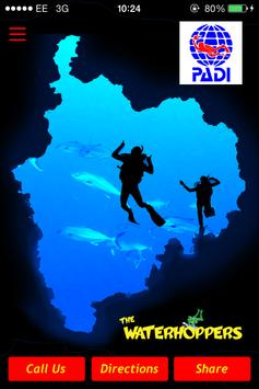 The Waterhoppers Diving School apk screenshot