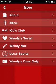 Wendy's NW Ohio apk screenshot