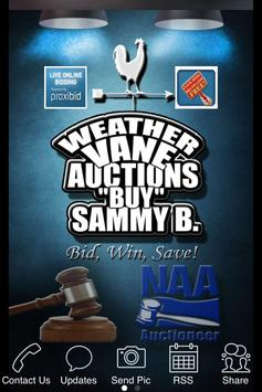 Weathervane Auctions poster