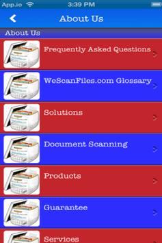 We Scan Files apk screenshot