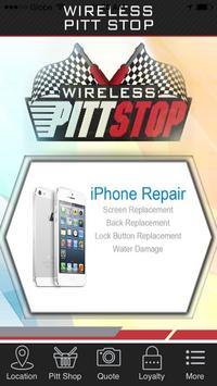 Wireless Pitt Stop poster