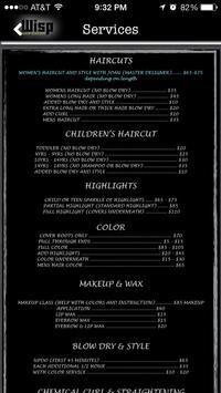 Wisp Hair Salon apk screenshot