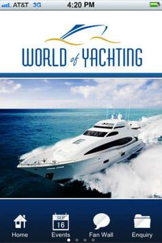 World Of Yachting poster