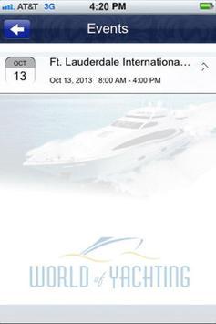 World Of Yachting apk screenshot