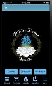 White Lotus Studio poster