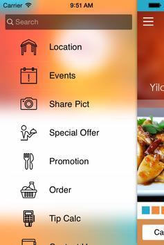 Yiloo Catering apk screenshot