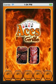Aces Grille poster