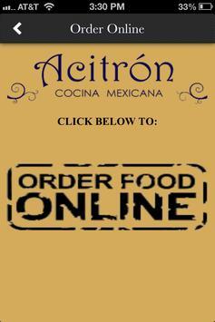 Acitron Restaurant apk screenshot