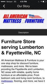 All American Mattress apk screenshot
