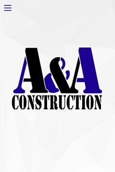 A&A Construction poster