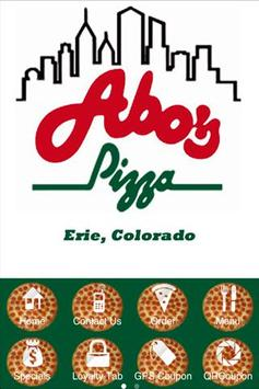Abo's Pizza Erie poster