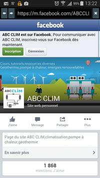 ABC CLIM apk screenshot