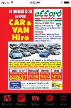 Afford Rent A Car poster