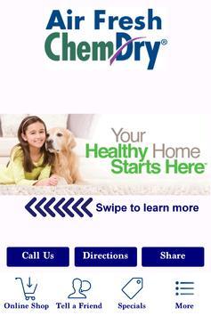 Air Fresh ChemDry Carpet Clean poster