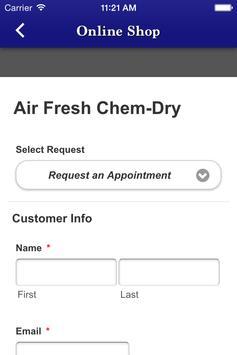 Air Fresh ChemDry Carpet Clean apk screenshot