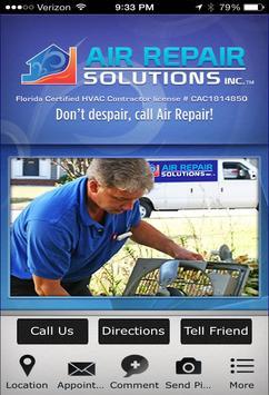 Air Repair Solutions poster