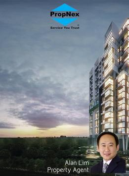 Alan Lim Property Agent poster