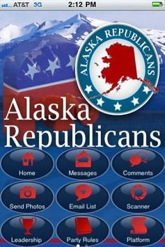 Alaska Republican Party poster