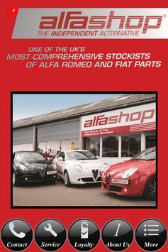 Alfa Shop poster