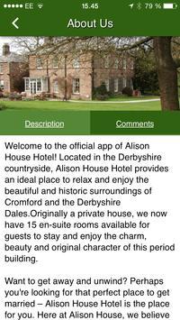 Alison House Hotel apk screenshot